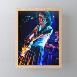 Ezra Furman Live at Union Stage Washington DC 2019 Framed Mini Art Print