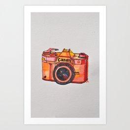 retro camera phone case Art Print