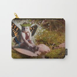 Mossy Mushroom Fairy Carry-All Pouch
