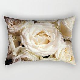 Rose print Boho photography Flower bedroom decor botanical Flowers gift for sister Rectangular Pillow