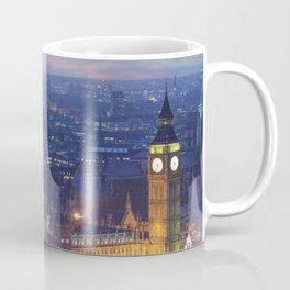 Big ben and the houses of parliament at dusk Coffee Mug