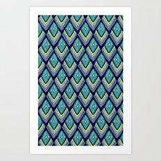 plumes Art Print