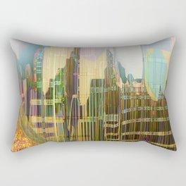 Back to the Fantastic City Rectangular Pillow