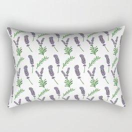 Lavender Pattern Rectangular Pillow