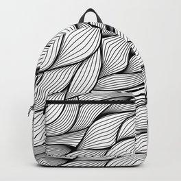 Thread monochrome Backpack