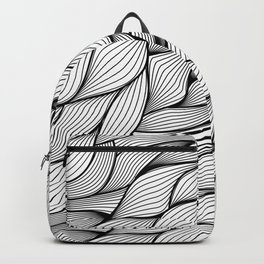 Thread monochrome Backpack