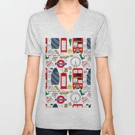 London Unisex V-Neck