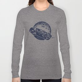 Car in space Long Sleeve T-shirt