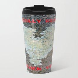 I Really Really Lichen You Travel Mug