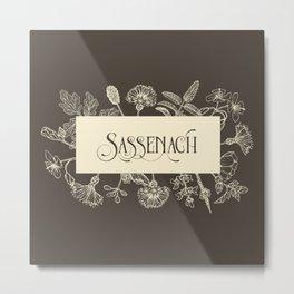 Sassenach in Sepia Metal Print