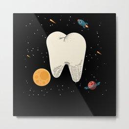 Dentist Gift Tooth Metal Print