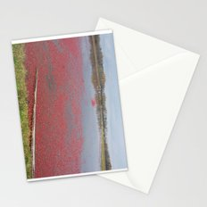 Cranberries Waiting To Be Rounded Up Stationery Cards