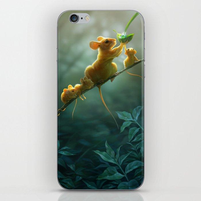 Morning dew iPhone Skin