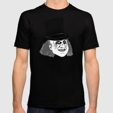Ah, the direct approach. I admire that in a man with a mask. Mens Fitted Tee Black MEDIUM