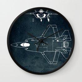LOCKHEED MARTIN - First flight 2006 Wall Clock