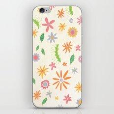 Colourful Daisies iPhone Skin
