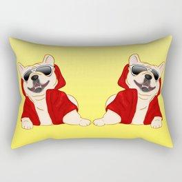 Stylin French Bulldog Rectangular Pillow