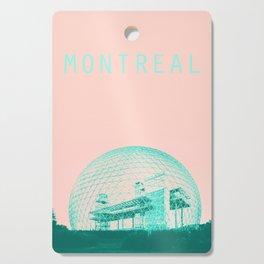Montreal Biosphere Pastel Cutting Board