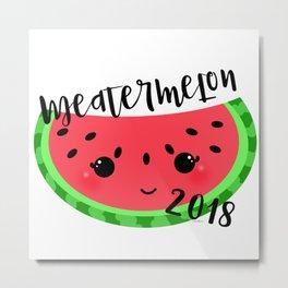 Meatermelon 2018 Metal Print