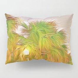 Palms Against the St. Pete Sky Pillow Sham