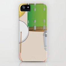 Drum Set Print Slim Case iPhone (5, 5s)