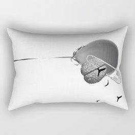 Oxygen to my brain Rectangular Pillow