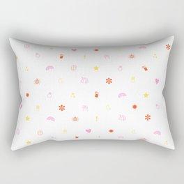 A Few of My Favorite Things Emojis Rectangular Pillow