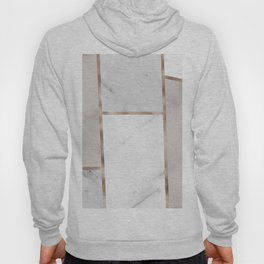 Taupe stones - rose gold adorns Hoody