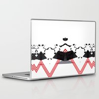 rorschach Laptop & iPad Skins featuring Rorschach by Isaak_Rodriguez