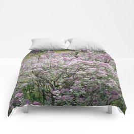 Purple Sage Brush Comforters
