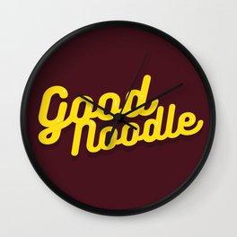 Good Noodle Wall Clock