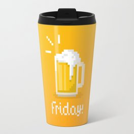 Pixel Friday Travel Mug