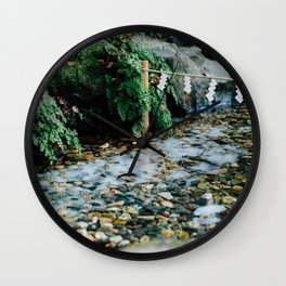 Washed Away Wall Clock