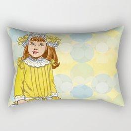 Golden Rod Rectangular Pillow