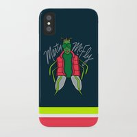 marty mcfly iPhone & iPod Cases featuring Marty McFly by Chelsea Herrick