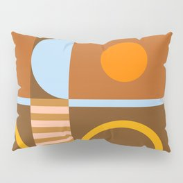 Abstraction_SHAPE_BALANCE_POP_ART_Minimalism_005BB Pillow Sham