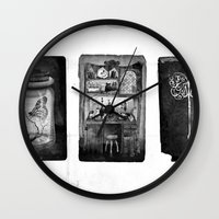 alchemy Wall Clocks featuring Alchemy by Mutt Ink