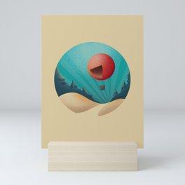 World in a Circle : Escape Mini Art Print