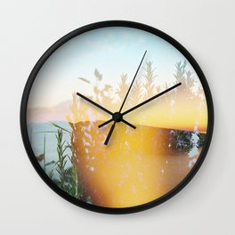 From 3pm to the Sunset Wall Clock