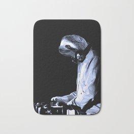 DJ Sloth Bath Mat