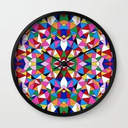 Kaleidoscope II Wall Clock