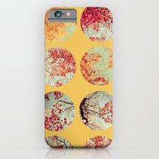 Sunflower Inkblot Slim Case iPhone 6s