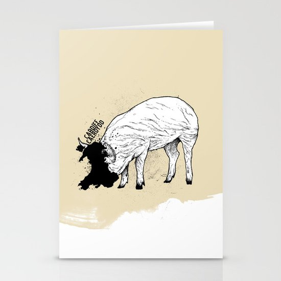 Locals Only - Cardiff, Wales Stationery Cards