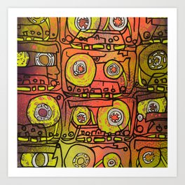Cassettes VII Art Print