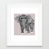 ellie goulding Framed Art Prints featuring Ellie by lush tart