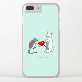 Your heart is mine Clear iPhone Case