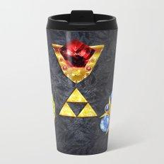 The Timeless Legend of Zelda Inspired Spiritual Stones Metal Travel Mug