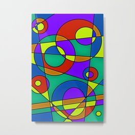 Abstract #61 Metal Print