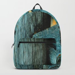 Wood Triangle Backpack
