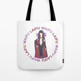 Waifu Laifu Anime Inspired Shirt Tote Bag